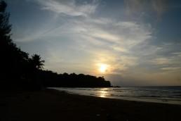 Coucher de soleil sur Kamala