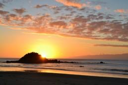 Couché de soleil sur Monkey Island